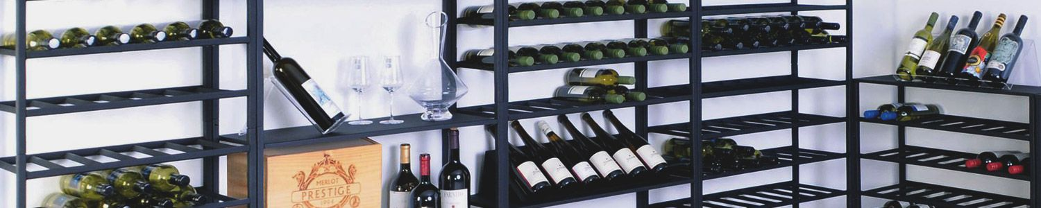 Metal Wine Rack Systems
