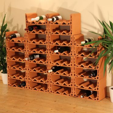 Wine rack NIZZA made of Clay
