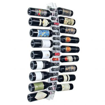 Wall wine rack CAPRI, acrylic
