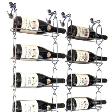 Metal wine rack CHAIN