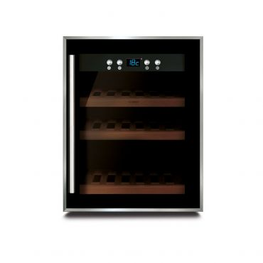 Wine cooling cabinet WineSafe 12 black