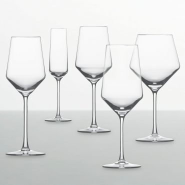 PURE - made of patented Tritan crystal glass