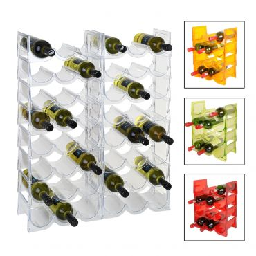 Acrylic wine rack system FLASH