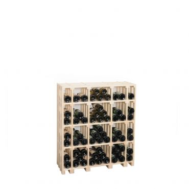 Wooden wine rack CaveauSTAR, model 2