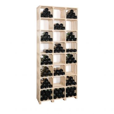 Wooden wine rack CaveauSTAR, model 5