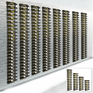 Metal wall wine rack HANG UP