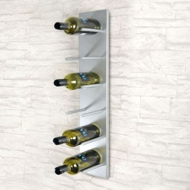 Wall mounting wine rack DALLAS powder coated metal