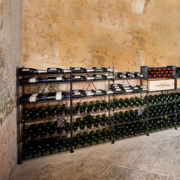 Wine rack system LE CAVE made of metal