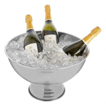Stainless steel champagne bowl HIGH SOCIETY