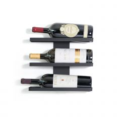 Wall Mounted Wine Rack for 3 Magnum Bottles