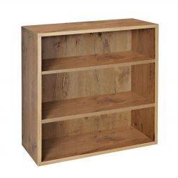 Rack module with 2 shelves, country oak