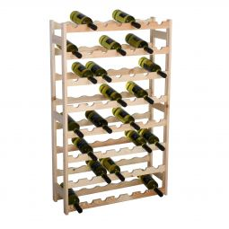 Wooden wine rack SIMPLEX, model 3, untreated
