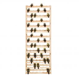 Wooden wine rack SIMPLEX, model 5, untreated